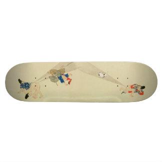 First Scroll, Ancient Japanese Fart Battles Skate Board Decks