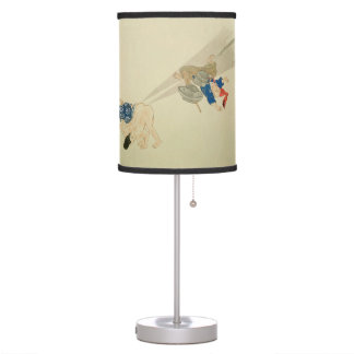 First Scroll, Ancient Japanese Fart Battles Table Lamp