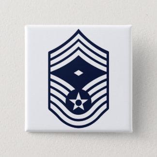 First Sergeant E-7 Pinback Button