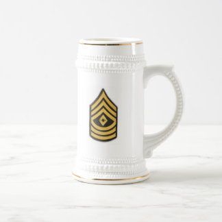 FIRST SERGEANT E-8 BEER STEIN