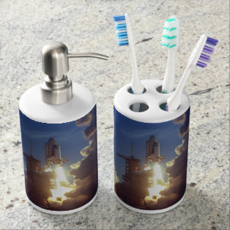 First Shuttle Launched Bathroom Set