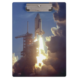 First Shuttle Launched Clipboard