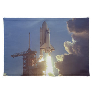 First Shuttle Launched Cloth Placemat