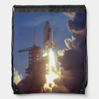 First Shuttle Launched Drawstring Backpack