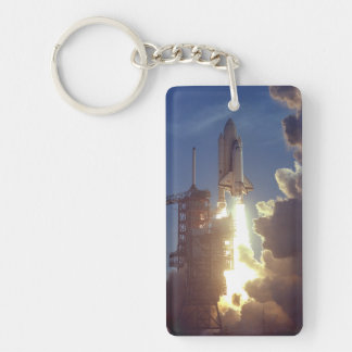 First Shuttle Launched Keychain