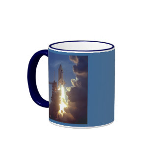 First Shuttle Launched Ringer Coffee Mug