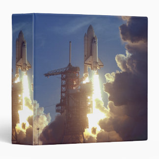 First Shuttle Launched Vinyl Binder