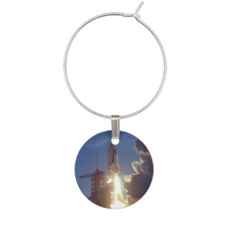 First Shuttle Launched Wine Charm