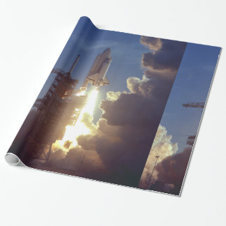 First Shuttle Launched Wrapping Paper