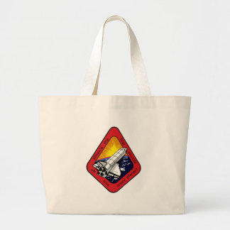 First shuttle off crazy planet? canvas bag