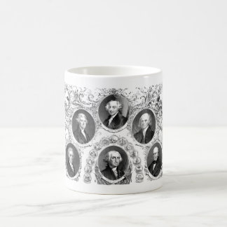First Six U S Presidents Coffee Mugs