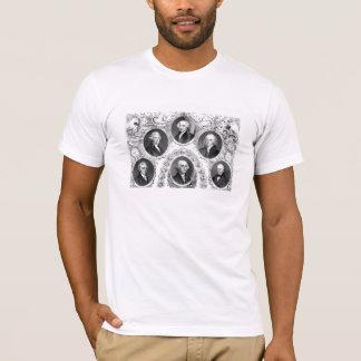 First Six U.S. Presidents T-Shirt