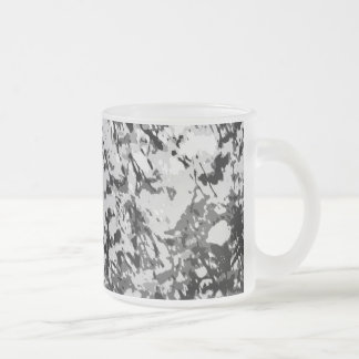 First snow Frosted 10 oz Frosted Glass Mug Frosted Glass Coffee Mug