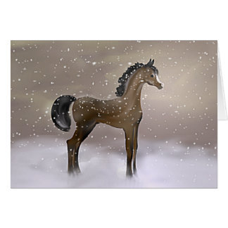 """""""First Snow"""" ~ Greeting Card"""