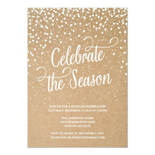 email christmas party invites