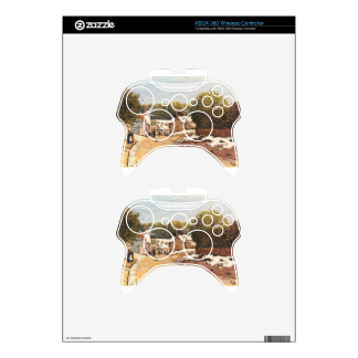 First Snow in Louveciennes by Alfred Sisley Xbox 360 Controller Skin
