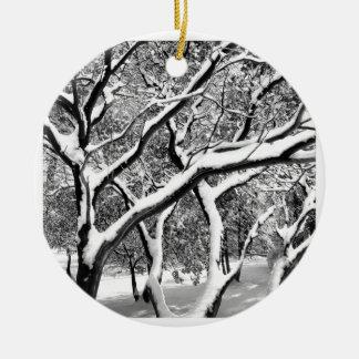 First Snow Manzanita Christmas Ornaments