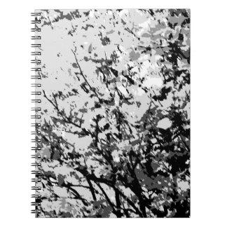 First snow notebook