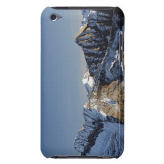 First snow on the mountains iPod Case-Mate case