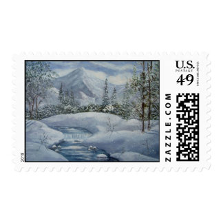 First Snow Postage