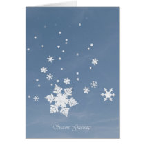 First Snow-Seasons Greetings Card