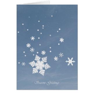 First Snow-Seasons Greetings Card
