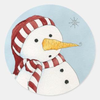 First Snowflake Sticker
