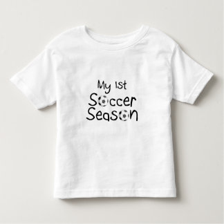First Soccer Season Toddler T-shirt