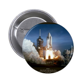 First Space Shuttle launch STS-1 Columbia Pin