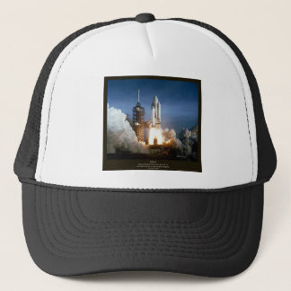 First Space Shuttle launch STS-1 Columbia Trucker Hat