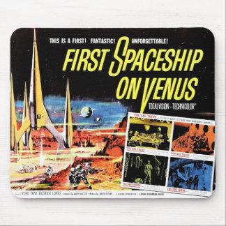 """First Spaceship on Venus"" Mousepad"
