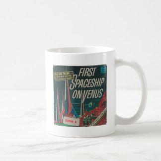 First Spaceship on Venus Vintage Scifi Film Coffee Mug