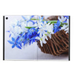 First spring flowers iPad air covers