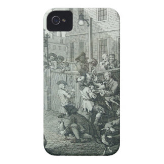 First stage of cruelty by William Hogarth iPhone 4 Cover