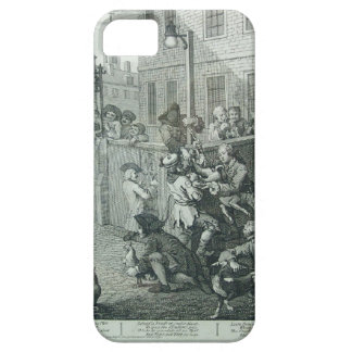 First stage of cruelty by William Hogarth iPhone SE/5/5s Case