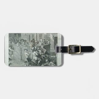 First stage of cruelty by William Hogarth Luggage Tag