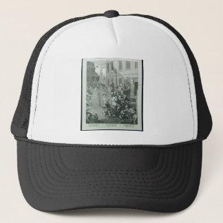 First stage of cruelty by William Hogarth Trucker Hat