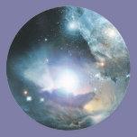 First Stars Round Sticker