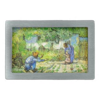 First steps, 1890 Vincent van Gogh. Belt Buckles
