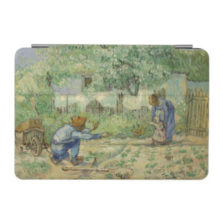 First Steps after Millet by Vincent Van Gogh iPad Mini Cover