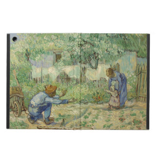 First Steps after Millet by Vincent Van Gogh iPad Air Cover