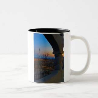 first stop for zazzle Two-Tone coffee mug