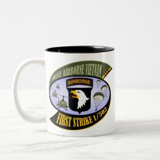 First Strike 1/502 Two-Tone Coffee Mug