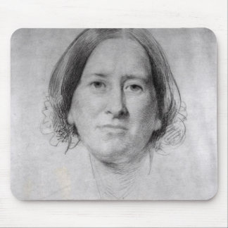 First Study for the Portrait of George Eliot Mouse Pad