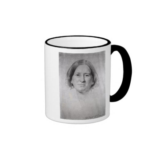 First Study for the Portrait of George Eliot Coffee Mugs