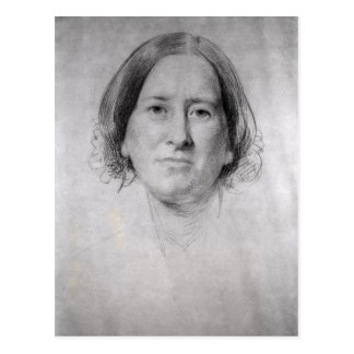First Study for the Portrait of George Eliot Postcards