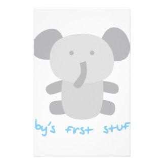 First Stuffy Stationery
