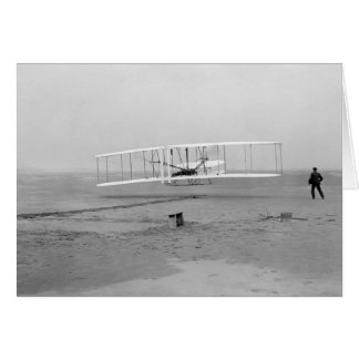 First Successful Flight of the Wright Flyer Greeting Card