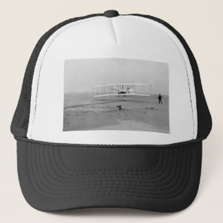 First Successful Flight of the Wright Flyer Trucker Hat