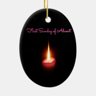First Sunday of Advent Ceramic Ornament
